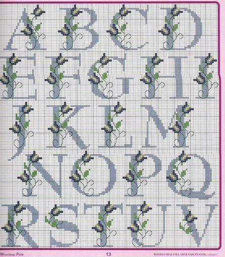 Emy's Gallery: Cross Stitch Alphabets