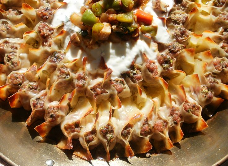 Manti        This comforting little meat filled dumpling is the beating heart of Turkish cuisine. Also known as Boerek ...