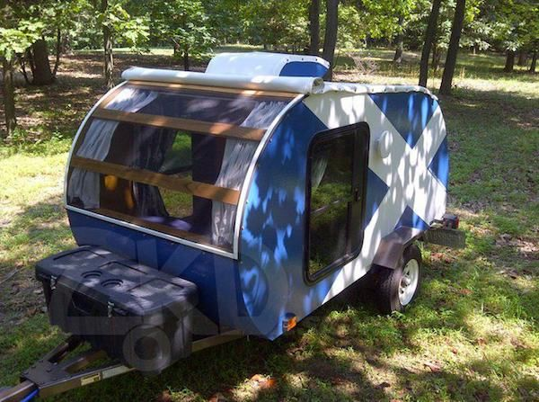 zach engle homemade teardrop camper for sale 01   Zachs Homemade DIY Teardrop Camper and How to Build your Own