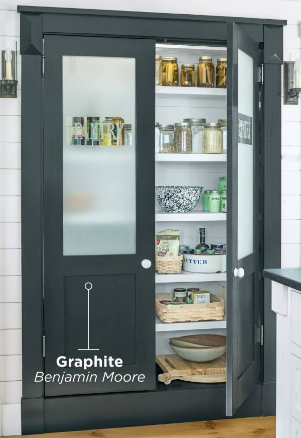 A Charming Pantry Is Just As Beautiful Inside As It Is Outside
