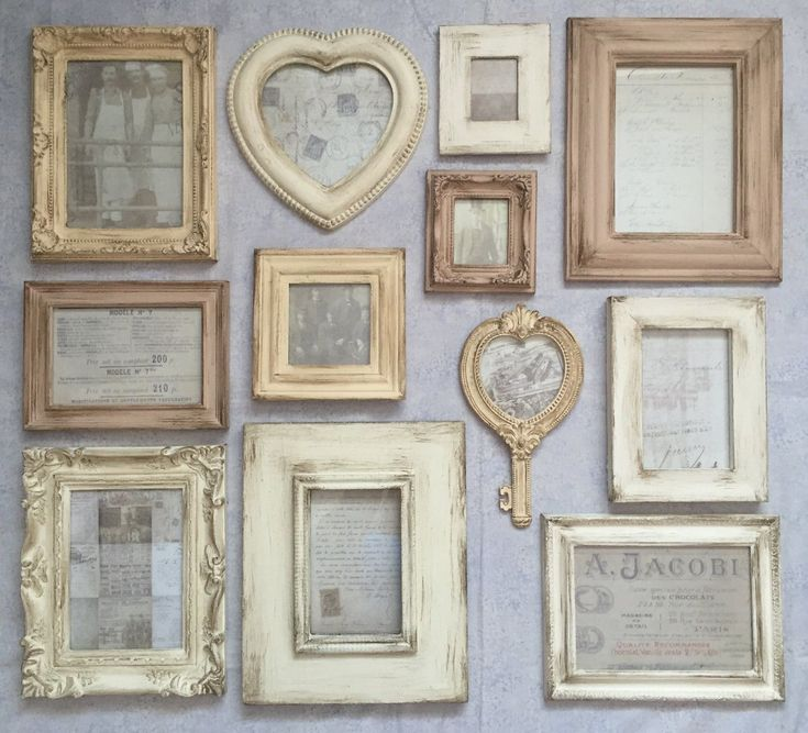 25 best ideas about shabby chic frames on pinterest shabby chic picture frames shabby chic. Black Bedroom Furniture Sets. Home Design Ideas
