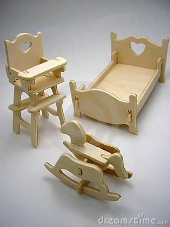 Cute Rocking Horse ...craft Stick Chair, Maybe?
