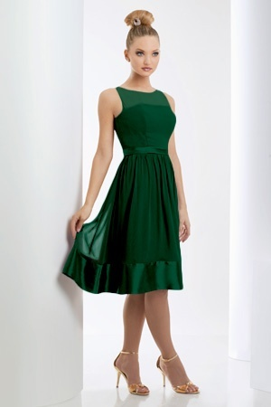 This is such a beautiful colour! If it had a hint of a cap sleeve (so I wouldn't have to wear a shawl or bolero for events that require more coverage), I would be thrilled.