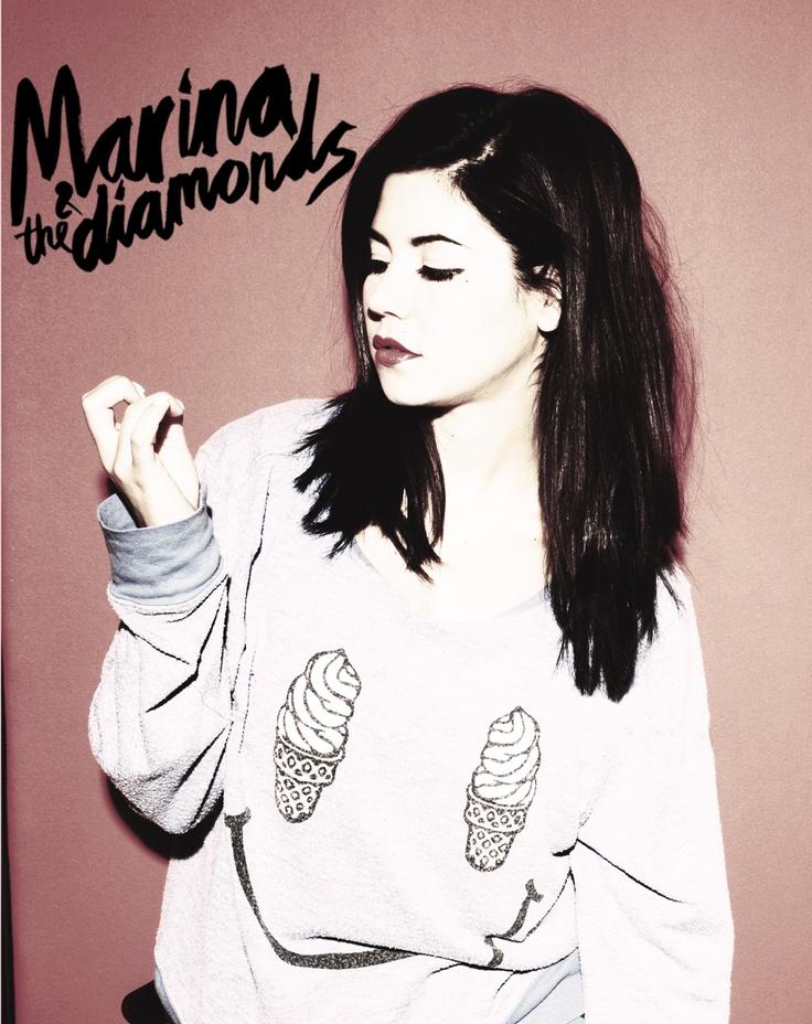 Marina and The Diamonds - Marina - sweater - ice cream