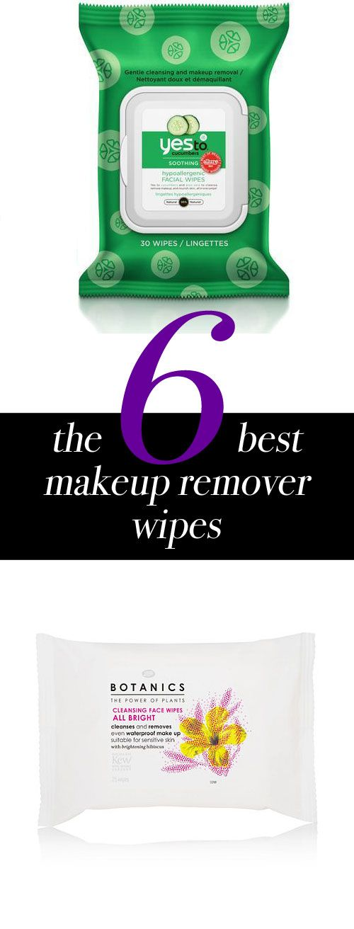 Without water, these cleansing wipes make it possible to completely remove makeup—including waterproof mascara—in a matter of seconds. See the best 6 makeup removing wipes.