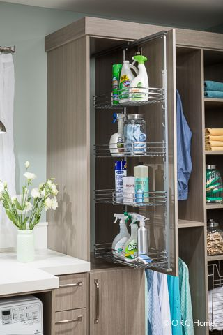 Laundry Organizers & Organization Systems | Tom Ferri's Closet Make-Overs - Southwestern Pennsylvania