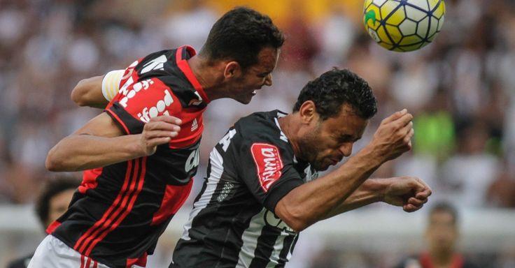 """Atlético-MG e Fla empatam em fim eletrizante e """"ajudam"""" Palmeiras"""