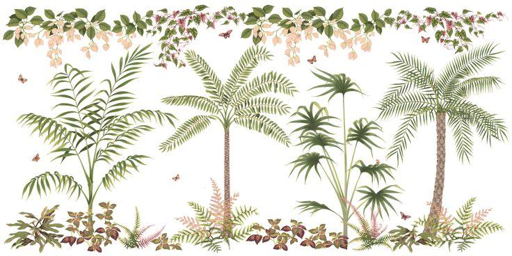 Charlotte Day Botanical Lining.