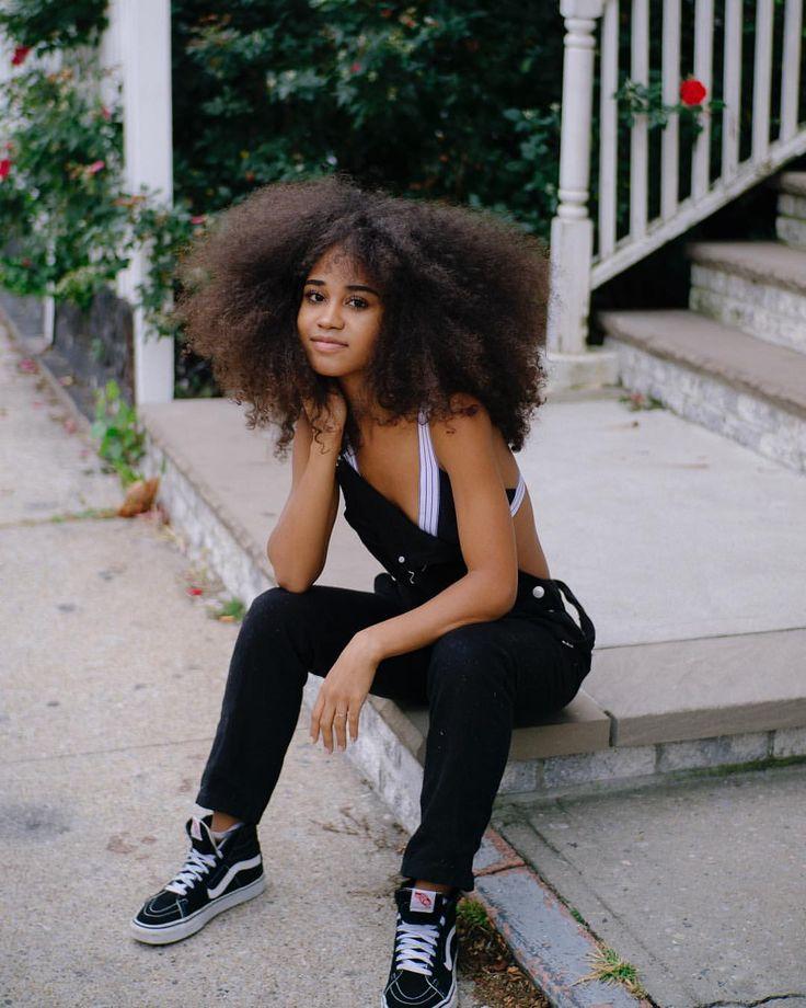 - Nona Simone (@iamnonasimone) on Instagram: Afro hair. Kinky curly hair. Afro texture. Afro-textured hair. Curly hair. Frizzy hair. Frizzy curls. Thick natural hair. Big hair. Thick hair.