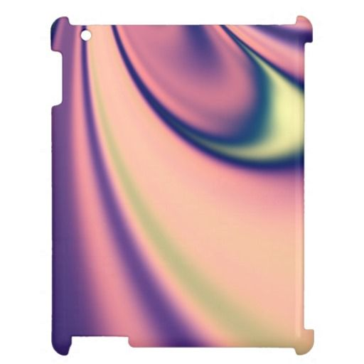 Pastel Days Fractal Case For The iPad