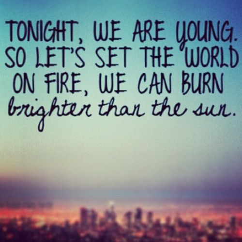 we are young:)