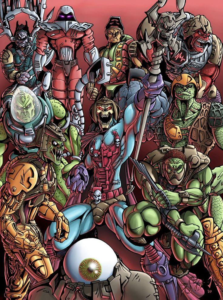 New Adventures of He-Man: Villians
