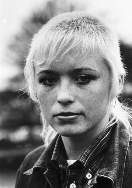 This Is England. Beautiful… but scary. Skinhead girl. Hartlepool, 1981.