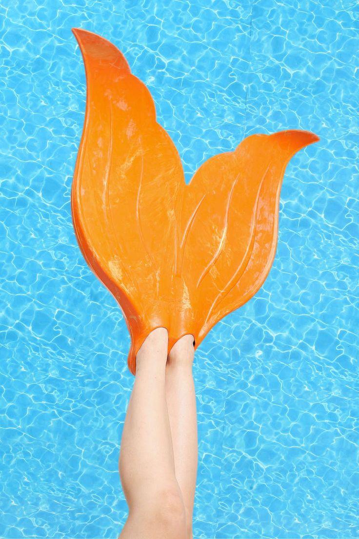 Fun mermaid flippers for summer! http://rstyle.me/n/vmxz5nyg6