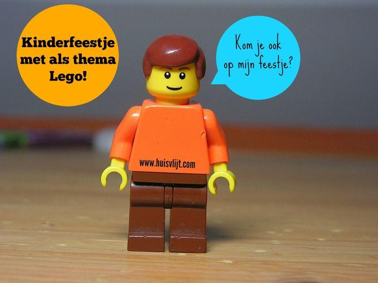 Kinderfeestje met als thema Lego