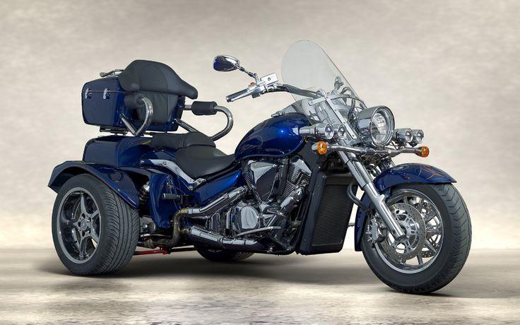 Suzuki Intruder C1500 Boom Trike.    http://boom-trikes.com/index.php/suzuki-intruder-1800-uebersicht-en.html