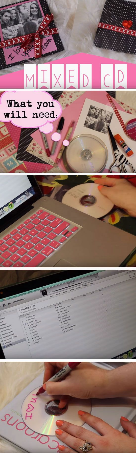 23 Romantic Diy Anniversary Gifts For Him Mix Cd And