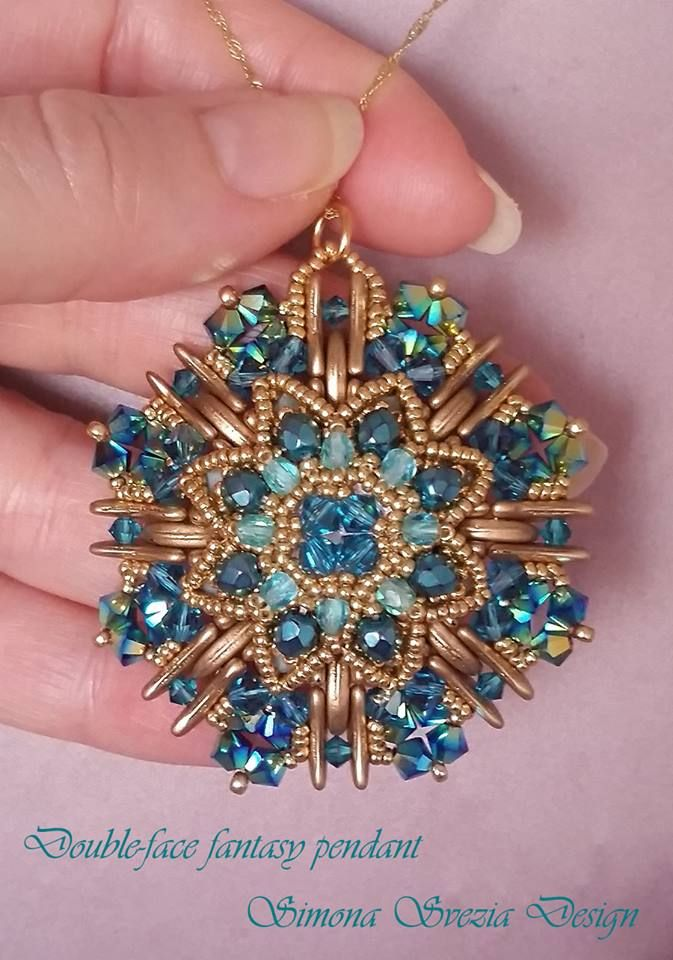 1321 best beaded pendants images on pinterest bead jewellery gioielli artigianali e tutorial handmade jewelry and beading tutorials aloadofball Image collections