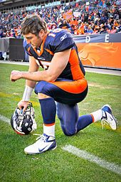 """""""Regardless of what happens, I still honor my Lord and Savior Jesus Christ, because at the end of the day, that's what's important, win or lose. … We need to get back to one nation under God, and be role models for kids."""" -- Tim Tebow"""