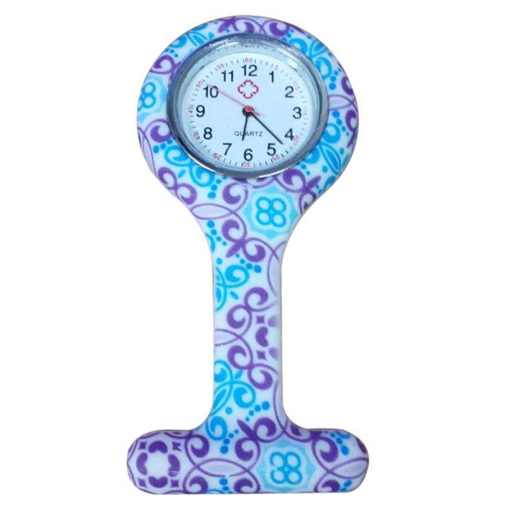 $1.38 (Buy here: https://alitems.com/g/1e8d114494ebda23ff8b16525dc3e8/?i=5&ulp=https%3A%2F%2Fwww.aliexpress.com%2Fitem%2FGeometric-Flowers-Silicon-Nurse-Doctor-Paramedic-Tunic-Brooch-Fob-Watch%2F32606106893.html ) Toopoot Reloj hombre 2016 Geometric Flowers Silicon Nurse Doctor Paramedic Tunic Brooch Fob Watch women men Free shipping for just $1.38
