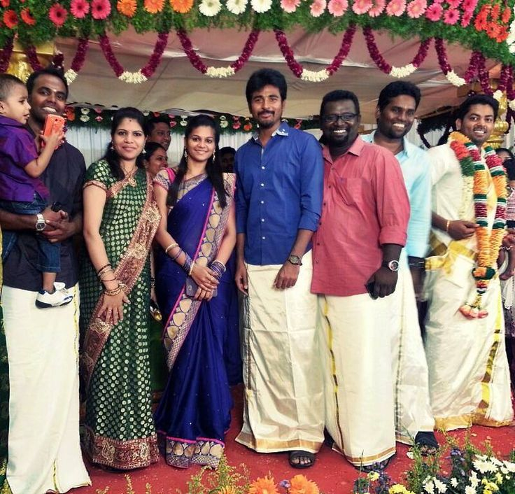 Siva Karthikeyan At His Friend Marriage Veethi