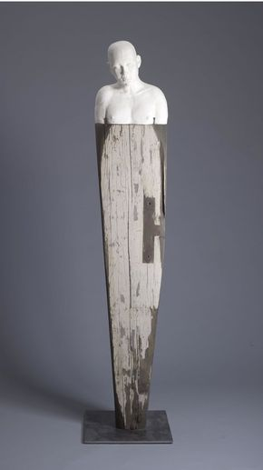 Drift 74 X 12 5 Ceramic And Reclaimed Wood Tyler Burton