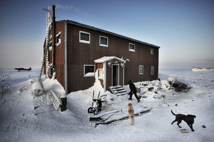 Kadir van Lohuizen Via Panam, migration in the America's, Alaska