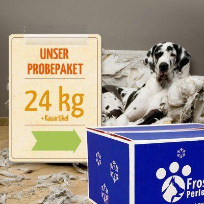Probepakete für Hunde - Ihr Tiernahrungs-Online-Shop fuer frisches und gefrostetes Hunde- und Katzenfutter - Frostfutter Perleberg