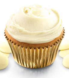White Chocolate Ganache: Chocolates Ganache, Chocolates Cakes, Cadbury Kitchens, Twhite Chocolates, Cadbury Cupcakes, Cadbury White, Ganache Recipes, Ganache Cupcakes, Cupcakes Chocolate
