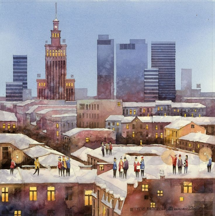 Poland-based artist, Tytus Brzozowski, is behind this collection of paintings. After graduating from the Faculty of Architecture at the Warsaw University of Technology, he went on to work in Finland, where...