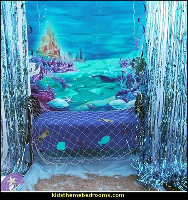 Mermaid Party Decorations Mermaid Party Ideas Mermaid Themed