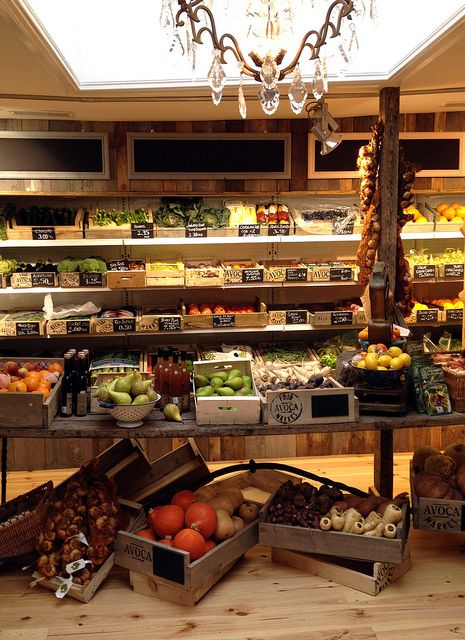 Avoca Monkstown Food Market & Salt Café by Avoca Ireland, via Flickr