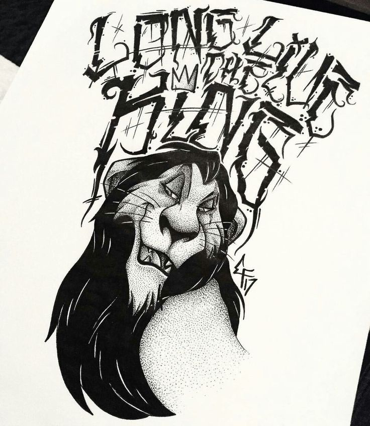 The Lion King Family Tattoo Idea Scar Long Life The King
