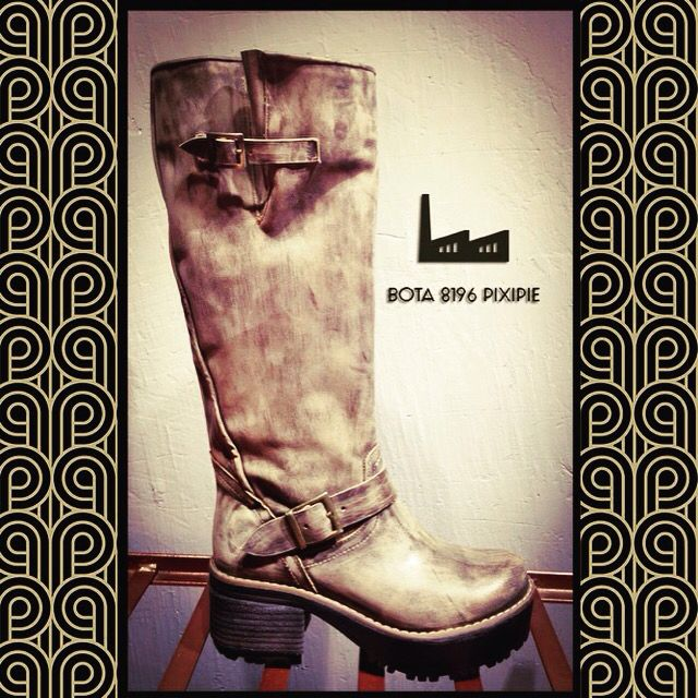Bota 8196 PiXiPiE  #boots #leather #fashion #mujer #invierno #hechoenchile #design