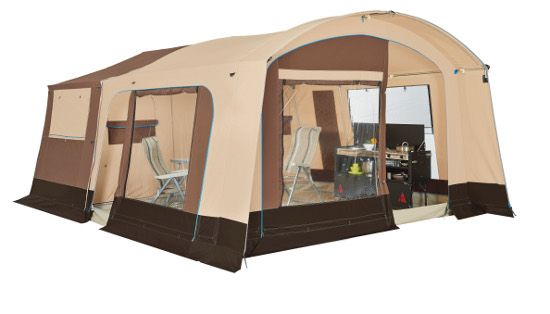 Trigano Galleon | Family Trailer tent in new Mocha colour for 2016