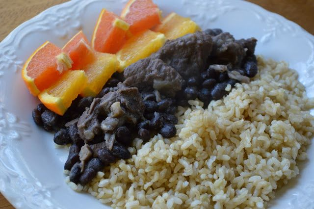 Feijoada -- Brazilian rice and beans | Salivacious Consumptibles | Pi ...