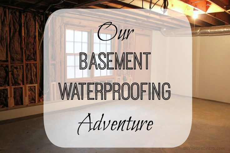 Read this if you have a basement! We learned a lot throughout our basement waterproofing adventure, from the process, to what you should look for in a waterproofing company and more. I'm sharing that experience with you! READ or Pin for later!
