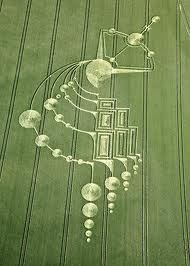 Crop Circle inspiration for zentangle