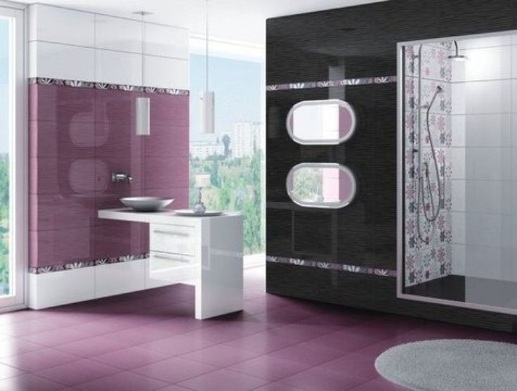 Make Photo Gallery Modern Bathroom Colors HD Picture