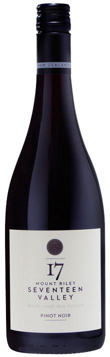 2013 Mount Riley Pinot Noir — Mount Riley Wines Blenheim, Marlborough