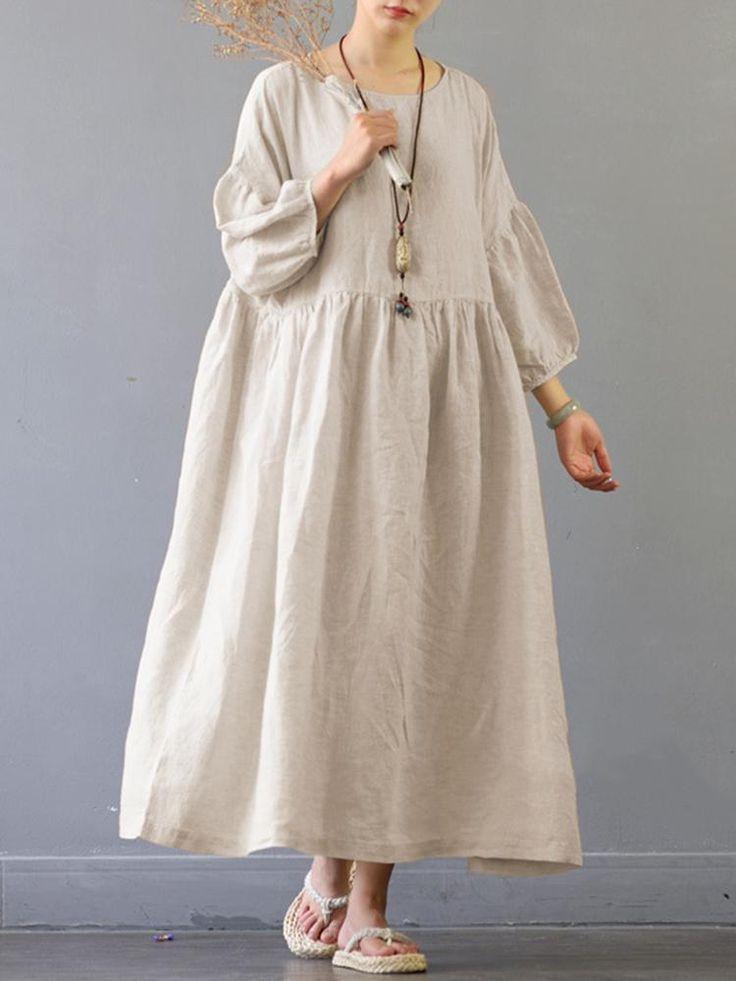 портретной льняное платье в стиле бохо фото одиночные или