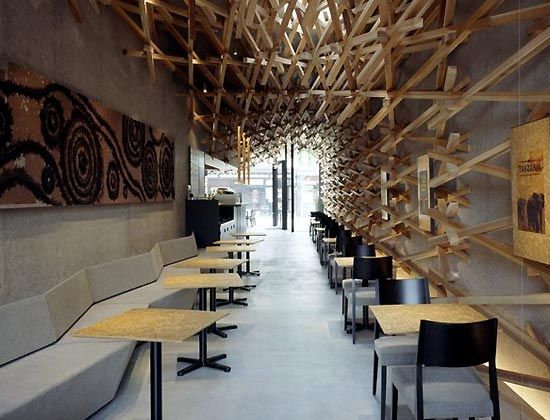 19 best coffee shop images on Pinterest | Architecture, Restaurant ...