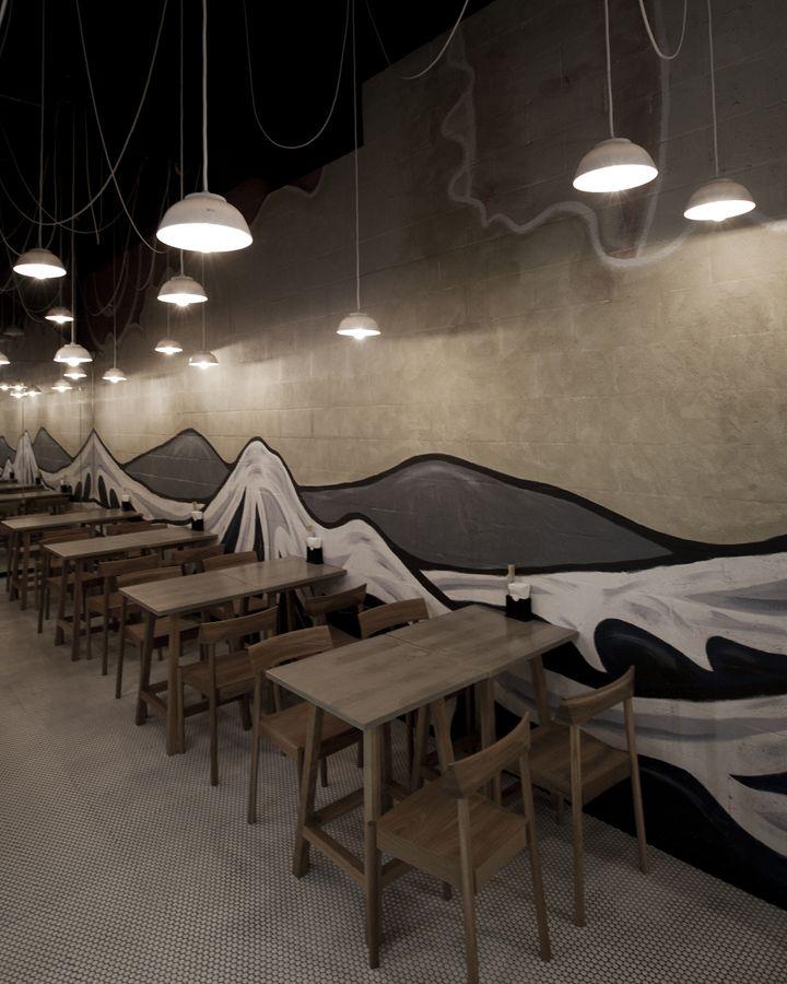 Ramen House Restaurant Design By StudioMKZ 02 Sydney Australia