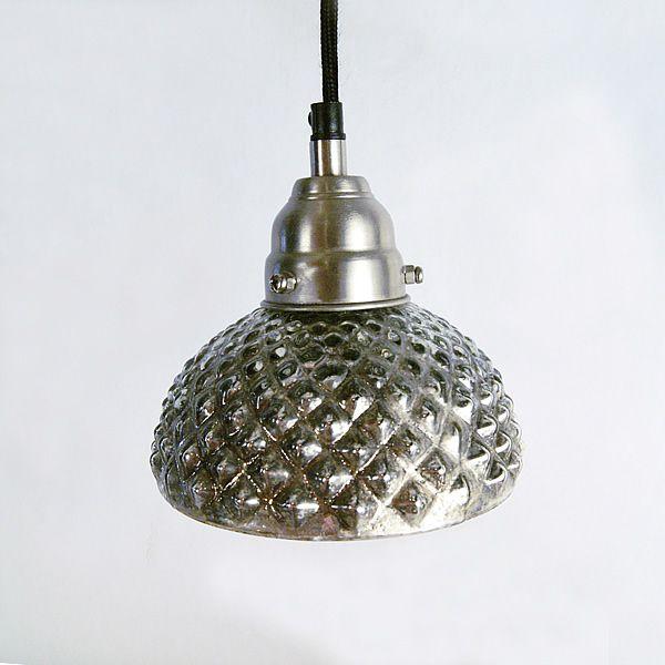 Hobnail Mercury Pendant Light