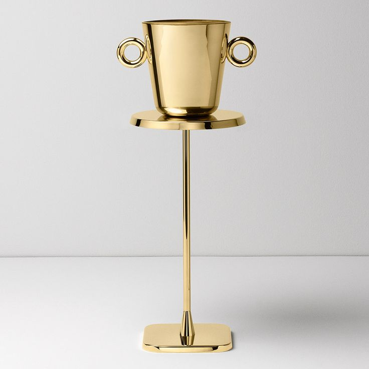 Ghidini launches first collection of brass homeware and furniture