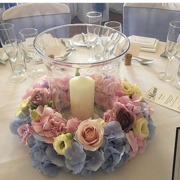 Wedding Flowers Harrogate: Storm Lanterns By @leafycouture With Candelabra