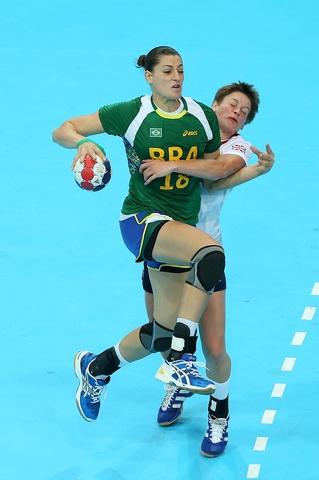 Eduarda Amorims, brazilian handball player