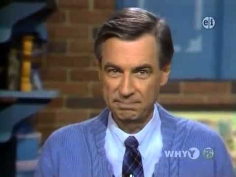 Mister Rogers   When you like someone (He always knew exactly what to say and how to say it. LOVE this song... especially right now...