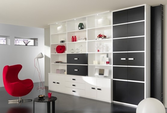 Modèle Black & White - Vue 2