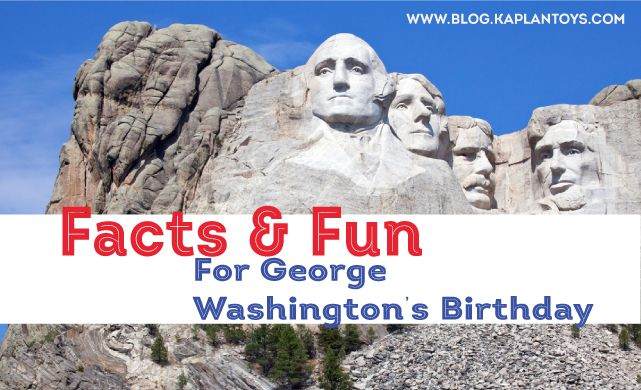 8 Cool Facts about George Washington and even more ways to get your kiddos involved on President's Day!